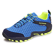 Gray/Blue Wearproof Rubber Running Shoes for Men