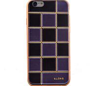 espalda Enchapado / Ultra-Fino Other TPU Suave Plating Cubierta del caso para Apple iPhone 6s/6