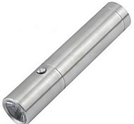 Stainless Rechargeable Flashlight with 1 Battery and Charger