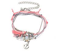 Bracelet Chaînes & Bracelets / Charmes pour Bracelets / Bracelets de rive / Bracelets Wrap / Loom Bracelet Alliage / Dentelle Ancre Mode