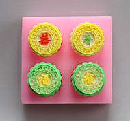 Fu Lu Shou Xi Chocolate Silicone Molds,Cake Molds,Soap Molds,Decoration Tools Bakeware