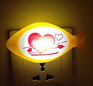 (Color Random)Fish Smart light Sensor LED Night Light