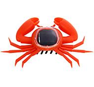 sol impulsado juguete de los niños de cangrejo de ahorro de energía