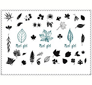 5PCS Fashion Girl Body Art Waterproof Temporary Tattoos Sexy Tattoo Stickers (Size: 3.74'' by 5.71'')