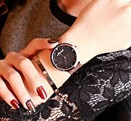 Women's Luxury Rose Gold Stainless Steel Quartz Watch