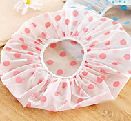 Yaron Korean Version Of The Cartoon Dot Thick Waterproof Bathroom Shower Cap Shower Cap Adults