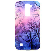 Purple Forest Pattern TPU Soft Case Phone Case for LG Series Model