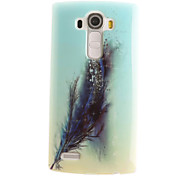 Feathers Painting Pattern TPU Soft Case for LG G4/G4Mini/G4C/G3Mini/G3