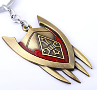 Lol Games Shield Shape Keychain Fight For The Alliance