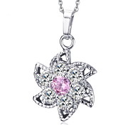 Necklace Pendant Necklaces / Pendants Jewelry Daily / Casual Fashion Cubic Zirconia White 1pc Gift