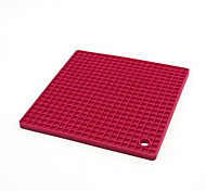 American Square Thick Silicone Insulation Pad Anti-Hot Cup Pot Dishes Mat Table Placemats Food Grade