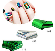Nail Art Nail Sticker Other Tools / Nail Jewelry/Byfunme Nail Transfer Stickers Star /3PCS