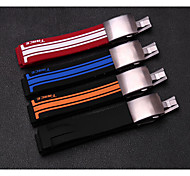 21mm Silicone Watch Strap + Folding Clasp for Tissot Rubber Band T048 T048 417A