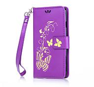 Body collant Support de Carte / résister / Motif Other Cuir PU Doux Card Holder Couverture de cas pour AppleiPhone 6s Plus/6 Plus /