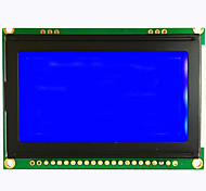 12864ZWA LCD module LCD module with ST7920 font 75x52COB serial and parallel direct
