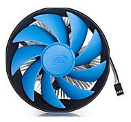 1155 1150 AMD CPU ventilador de refrigeración para el escritorio 12,4 * 12,1 * 6,55