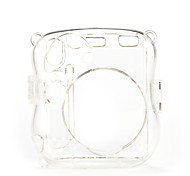 mini-25 instantanée de boîtier de la caméra - mini-instax 8 étui transparent avec bandoulière appareil photo (brun)