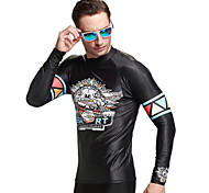 SBART Men's Diving Suits Diving Suit Compression Wetsuits 1.5 to 1.9 mm Black L / XL / XXL / XXXL Diving