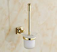 Soporte para Cepillo de Baño / Gadget para Baño / Ti-PVD / Montura en Pared /7.7*4.9*15 inch /Latón /Neoclásico /19cm 13cm 0.65KG