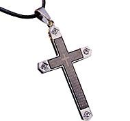 крест ожерелье титана ожерелье кристалла прохладно мозаики