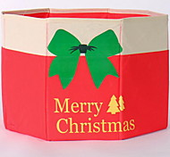 Non-woven Christmas Tree Skirt Receive A Case