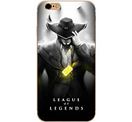 So Cool Ultra-thin Other TPU Soft League of Legends,So Cool Case Cover For  IPhone 5/6/6s/6plus/6s plus