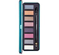 8 colores del sombreador de ojos desnuda belleza del maquillaje de larga duración comestic