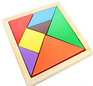 Baby Educational Toys Wooden Multicolour Tangoing Tangram Puzzle Toy