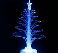 colorido luz de la noche del árbol de navidad