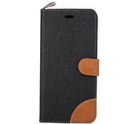 Luxury Canvas Cell Phone Sets For Galaxy S5/S6/S7/S5Mini/S6Edge/S7Edge