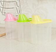 1 Cocina Cocina Plástico Tupperwares 16*9*15cm