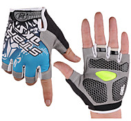 Half Finger Breathable Cycling Gloves Bike Gloves Bicycle Gloves Biking Gloves with Shock-absorbing Gel Pad