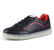 Running Shoes Men's LED Shoes Casual Fashion Comfort  /Outdoor & Walking Shoes/  Black / Red / White