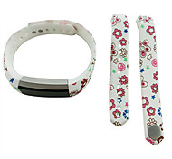 Smart Strap Bracelet Colorful Printing Silicone Bracelet For Fitbit Alta(11)
