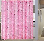 "Country Floral Pattern Shower Curtains W71""×L71"""