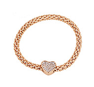 Bracelet/Charm Bracelets Alloy Fashionable Daily / Casual Jewelry Gift Gold,1pc