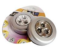 3-conduit pat la lumière tactile lampe armoire lecture nightlight