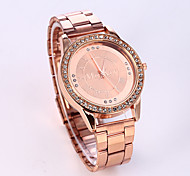 Women's European Style Luxury Fashion Shiny Rhinestone Quartz Wrist Watch