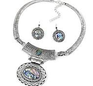 bijou argent opale collier pendentif en pierre de choker ensemble de bijoux