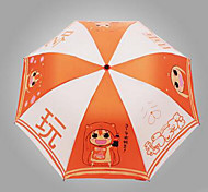 Supply Cartoon Umbrella Cartoon Umbrella Fold Chinchillas Surrounding Windproof Umbrella Uv Sun - Dry Sister
