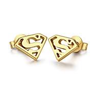 Earring Triangle Shape Stud Earrings Jewelry Women / Men Fashion Daily / Casual Titanium Steel 1 pair Gold