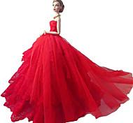 Barbie-Puppe Urlaub dress meine Liebe ist eine rote rote Rose