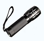 3 Gears Telescopic Focusing Aluminum LED Flashlight for Outdoor Riding