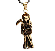 Punk Icons Islamic Titanium Steel Necklace Pendant Gold (Excluding Chain),