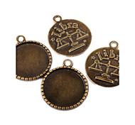 Amuletos / Pingentes N/D Round Shape como Imagem 10pcs