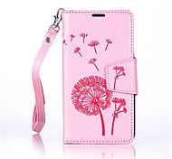 Dandelions Diamond Flip Leather Cases Cover For Wiko Lenny3/ Lenny 2 Strap Wallet Phone Bags