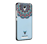 Relief Pattern Silicone Material Back Cover for RedMi note 2