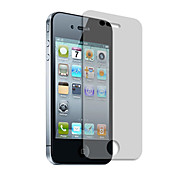 Front and Back High Transparency Screen Protector with Cleaning Cloth for iPhone 4 and 4S