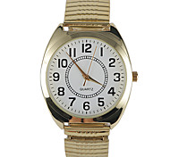 Men's Fashion Watch Water Resistant / Water Proof Quartz Stainless Steel Band Charm Gold