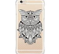 zurück Wasserdichte / Stoßfest / Transparent Eule TPU WeichBack Shockproof/Waterproof/Transparent TPU Soft Owl Case Cover For Apple